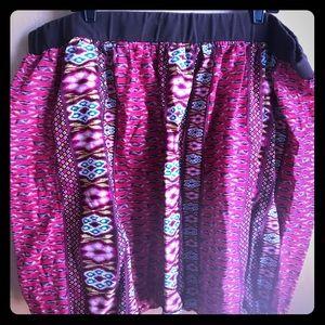 Torrid? Patterned Skirt, Sz 4